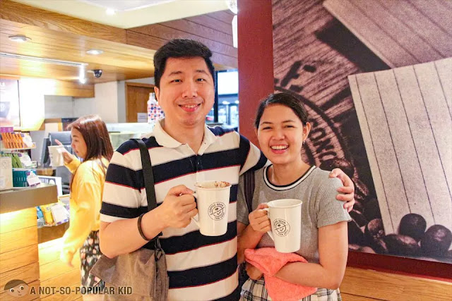 Gerald Cheng in Coffee Bean, Malate Pensionne