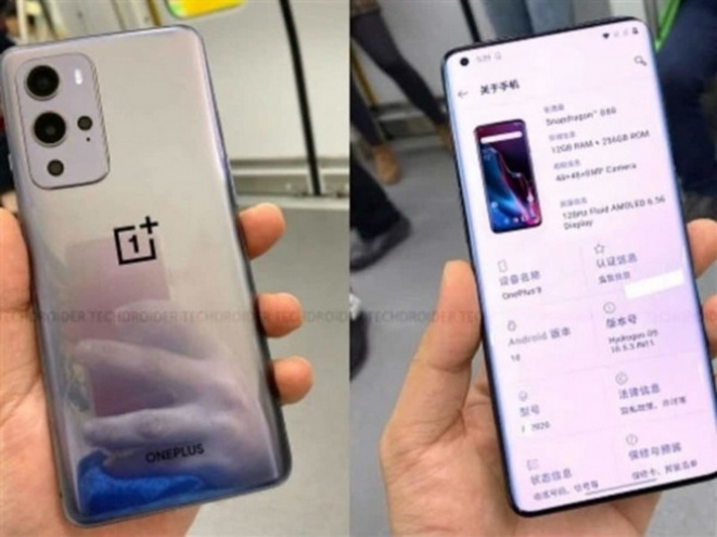 OnePlus 9 Display