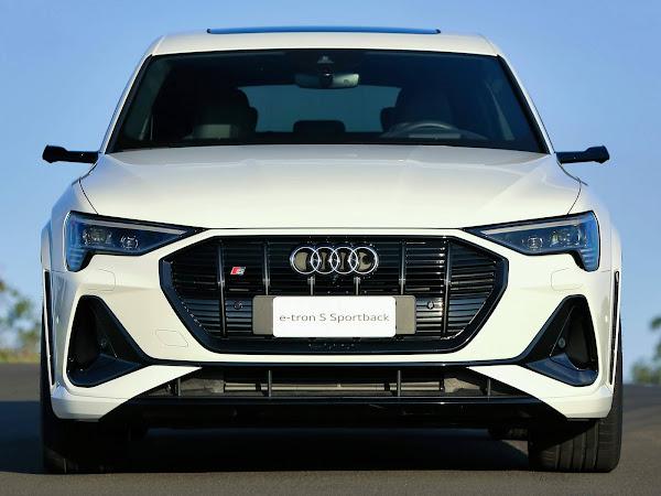 Audi e-Tron 2023 terá autonomia ampliada para cerca de 600 km