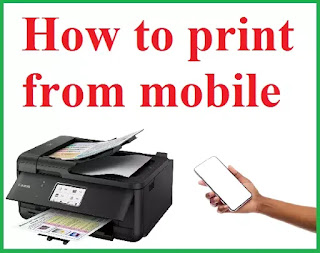 If you do not have Laptop you can print any document, photo, or PDF file by connecting the printer from mobile. Let's know how to do it