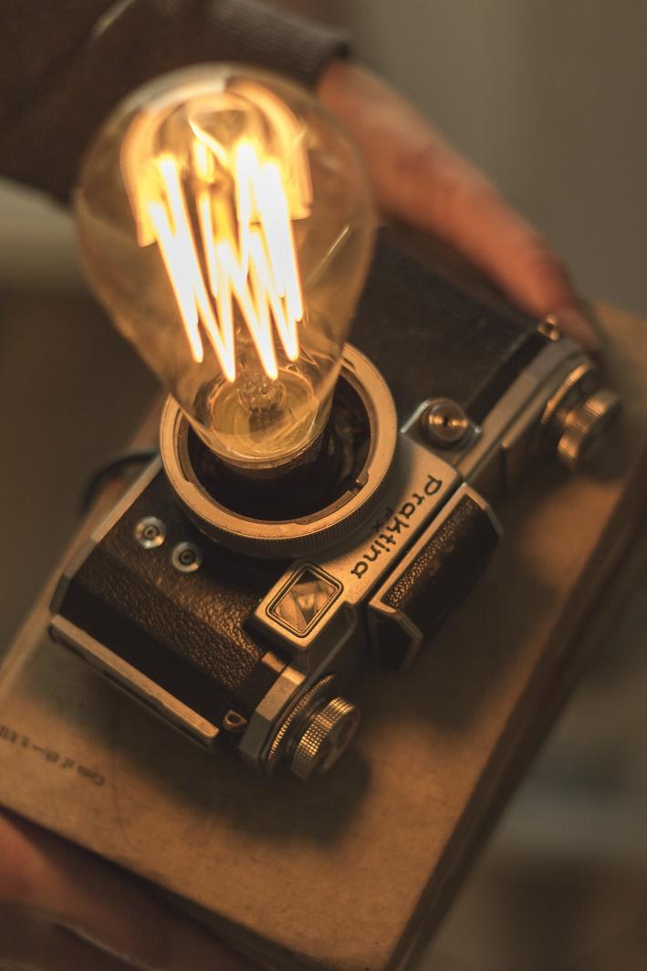 vintage camera diy