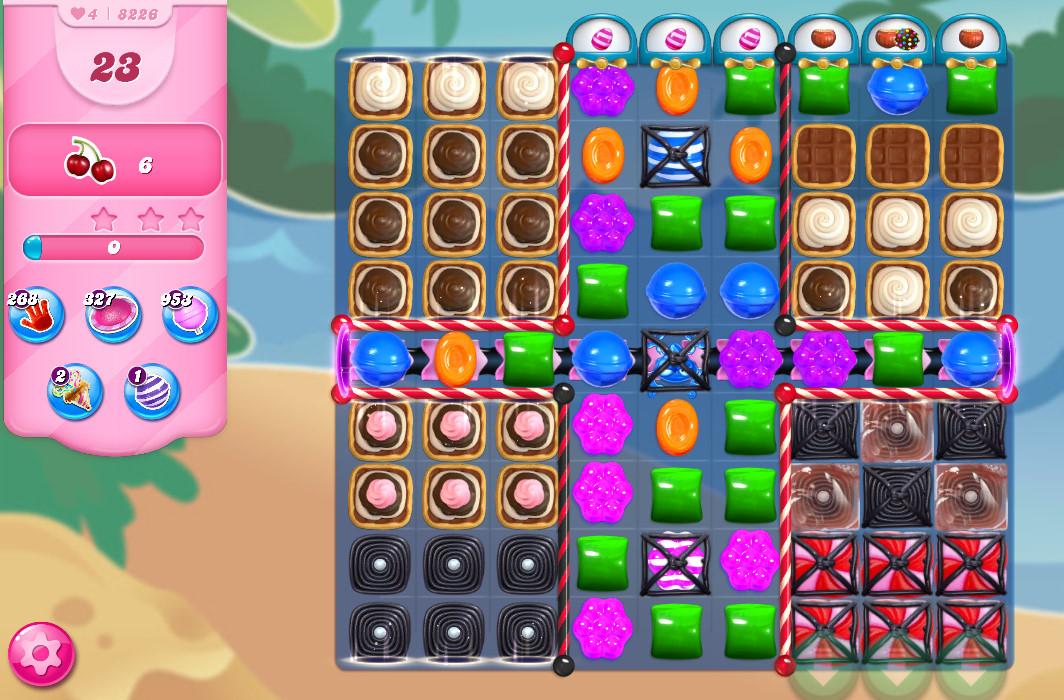 Candy Crush Saga level 8226