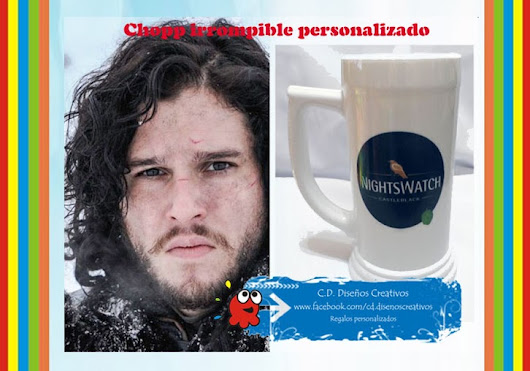 CHOPP´S PERSONALIZADOS IRROMPIBLES!