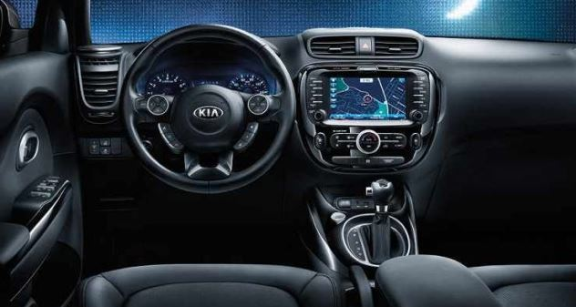 2017 Kia Soul EV Interior