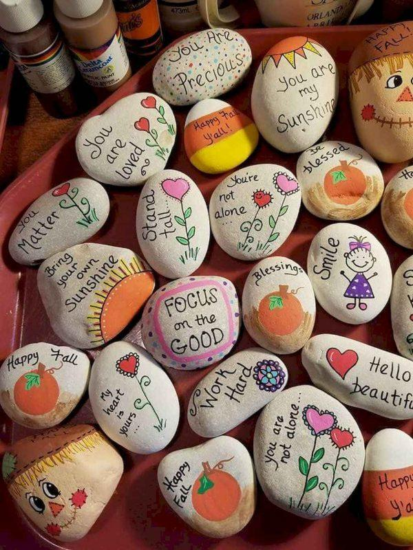 Summer Rock Painting Ideas