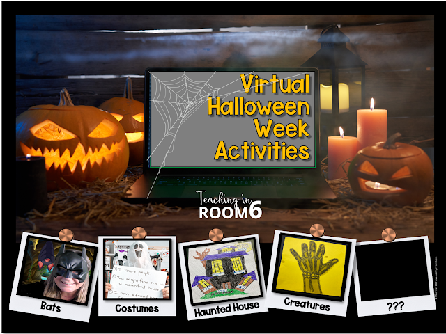 Virtual Distance Learning Activities for Halloween