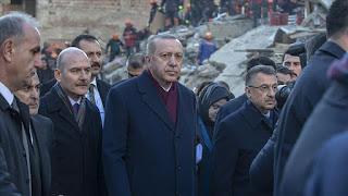 أردوغان: سنبني بيوتا ذات هياكل صلبة لمتضرري زلزال ألازيغ
