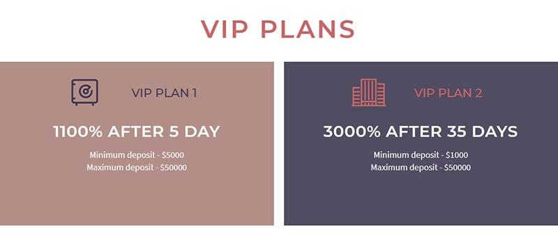 Инвестиционные планы Stableon Limited 3
