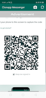 cara menggunakan aplikasi clonapp messenger