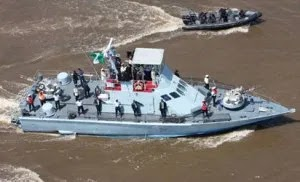 Navy intercepts fishing trawlers, arrests Nigerians, foreigners for alleged illegal fishing activities in Bayelsa