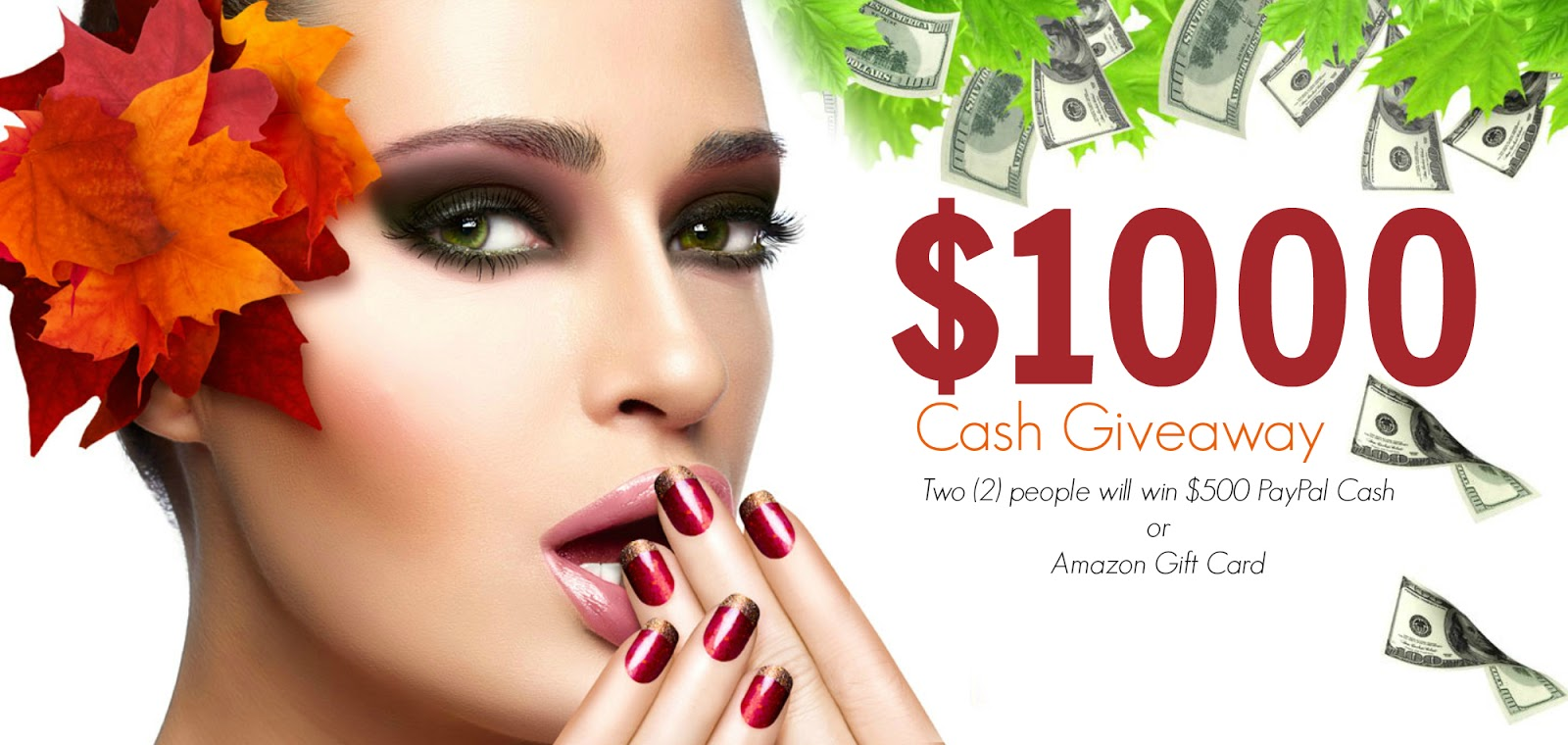 Hello Fall And Hello $1000 Cash Giveaway By Barbies Beauty Bits