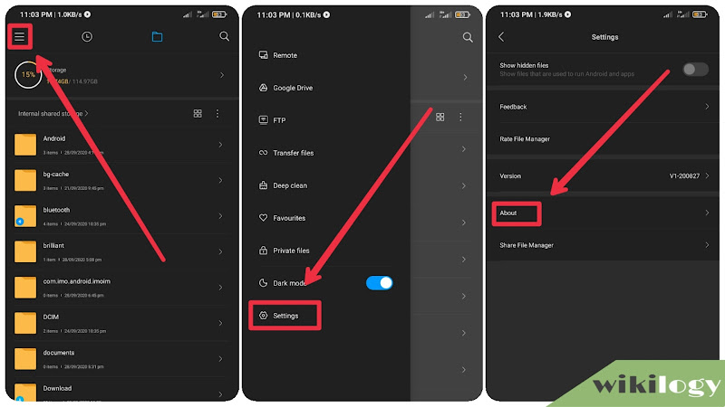 Remove Ads from File Manager app on MIUI phones