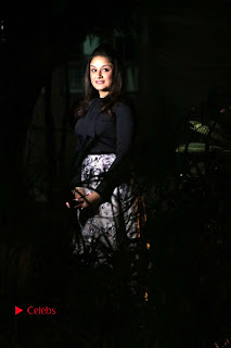 Actress Sonia Agarwal Stills in Black Top at Yevanavan Tamil Movie Audio Launch Event  0025.jpg