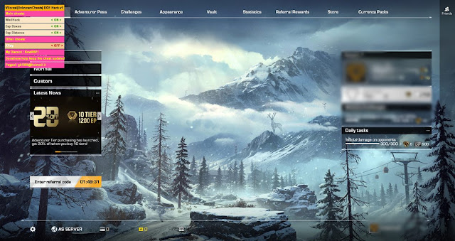 Download Cheats 18 December 2018 Ring of Elysium on Steam Wallhacks, Esp Distance,Esp BOX (Simple Inject)