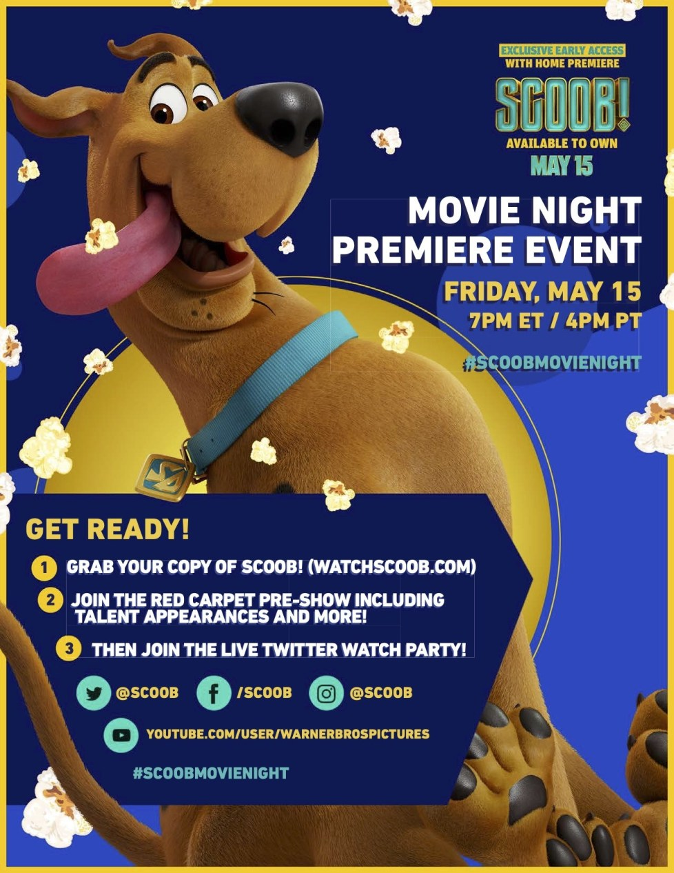 Dellah S Jubilation Looks Like We Ve Got A New Movie On Our Hands Get Ready For The Scoob Movie Night Premiere With Fun Printable Activities