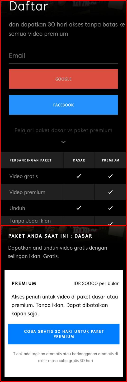 Cara Nonton Film Hooq Dan Viu Dengan Kuota Telkomsel Videomax