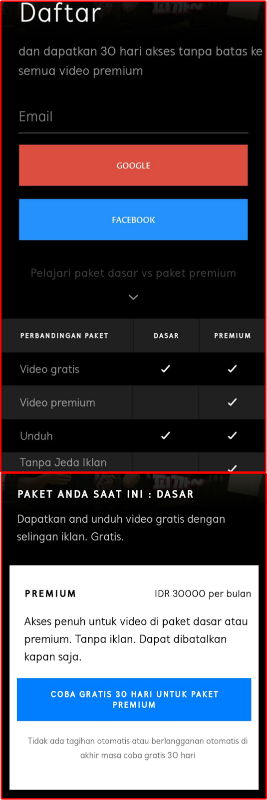 Paket Hooq Viu : paket, Nonton, Dengan, Kuota, Telkomsel, Videomax, Travelpiknik