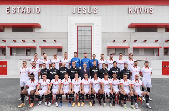 Foto Oficial Sevilla FC 20/21