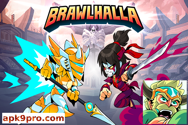 Brawlhalla v4.04 Apk + Data File size 470 MB for android