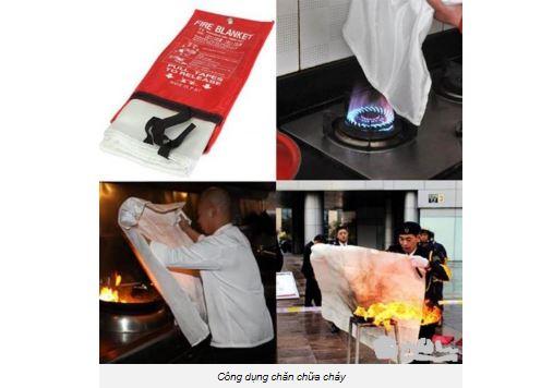 Công dụng chăn dập lửa EN1869