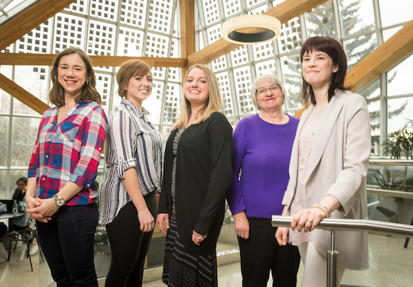 The University Health Centre Nursing Team - The University of Alberta's 2017 Community Leader Honourees