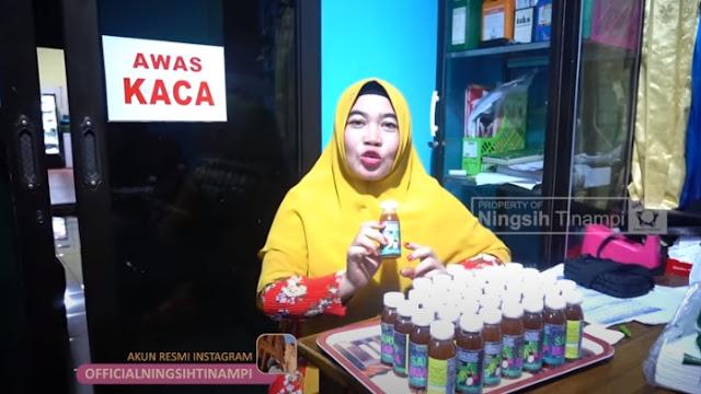 Viral, Ningsih Tinampi Jual Obat Corona Klaim Ampuh Sembuhkan Corona