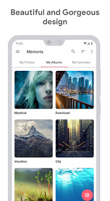 Memoria Photo Gallery pro