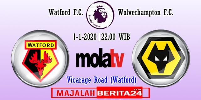 Prediksi Watford vs Wolverhampton — 1 Januari 2020