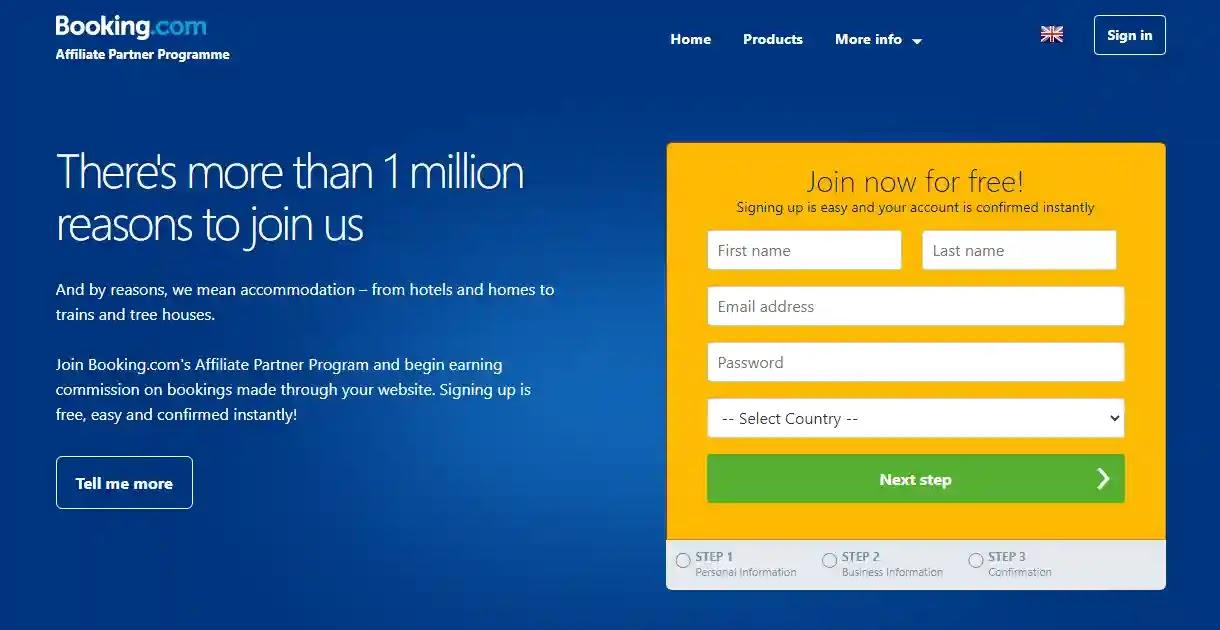 Booking.com's Affiliate Partner Program