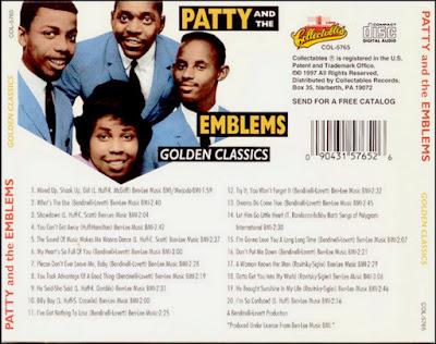 Patty & The Emblems - Golden Classics