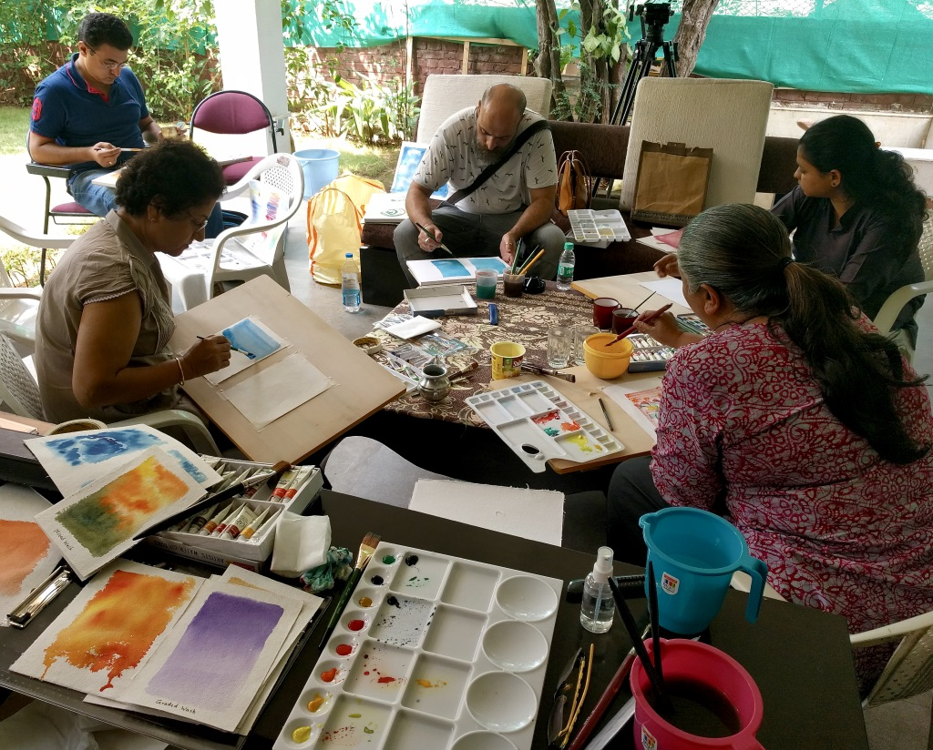 Image result for painting workshop india