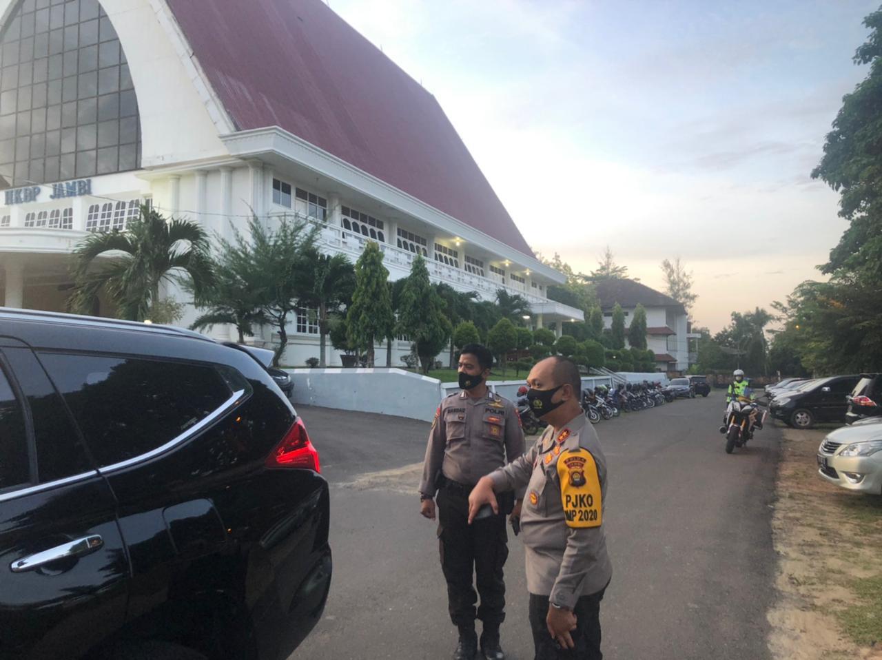 Insiden Bom di Makassar, Polda Jambi Memperketat Penjagaan