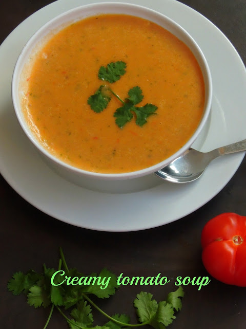 French creamy tomato soup