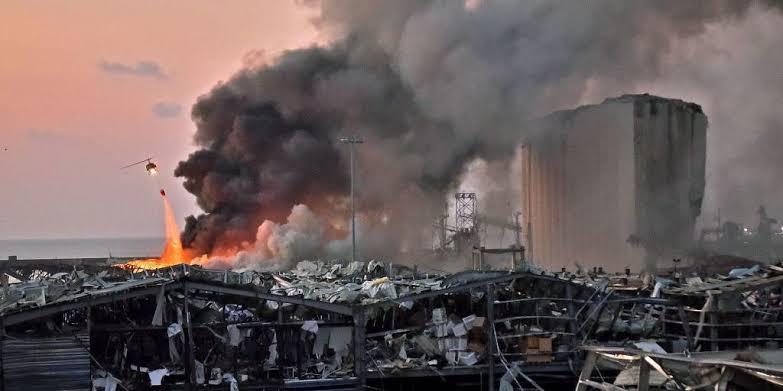 10 Fakta Mengerikan di Balik Ledakan Bom di Beirut Lebanon