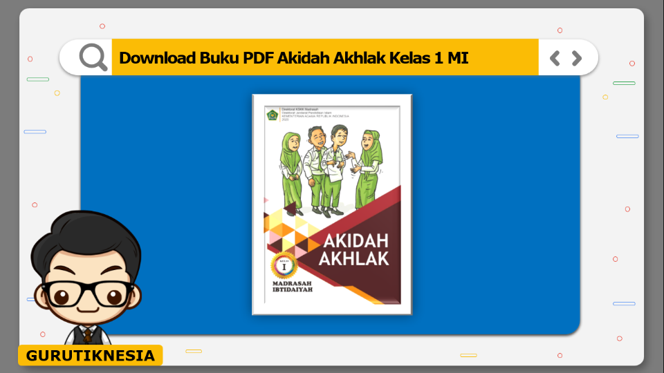 download buku pdf akidah akhlak kelas 1 mi