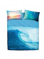 Ocean Wave de Bassetti Imagine. Juego de sábanas