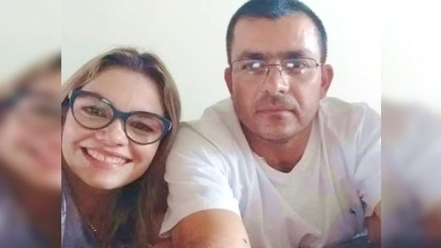 O adeus de Aristeia Dantas ao irmão Jadson, que morreu vitima de acidente na serra do Teixeira