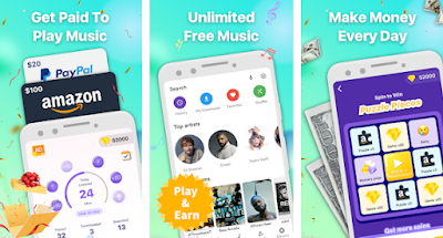 Download Aplikasi Earn Money Cash Mod Apk Musik Penghasil Uang Dollar Terbaru 2020 Gratis Pulsa Mod