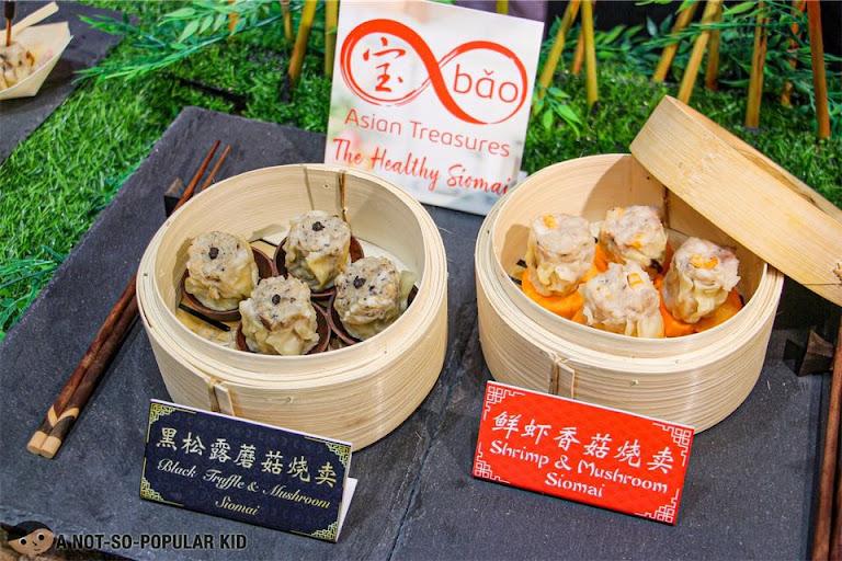 Bao Asian Treasures - Black Truffle & Mushroom Siomai