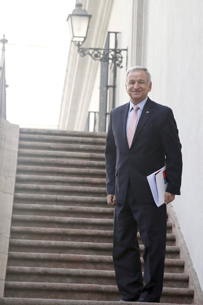 Ex ministro Felipe Larraín