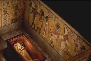 Misteri Makan Fir'aun Tutankhamun, Bintik-Bintik di Dinding Makam Dibiarkan Tampil