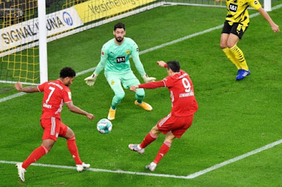 ملخص واهداف مباراة بايرن ميونخ وبروسيا دورتموند (3-2) الدوري الالماني