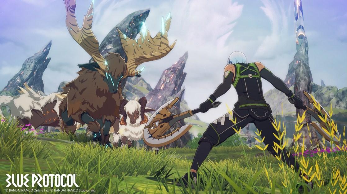 Blue Protocol - Anime fight