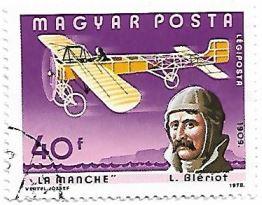 Selo Avião Blériot XI