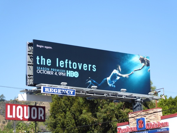 The Leftovers season 2 billboard