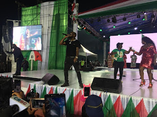 Davido Performs At PDP Convention In Port Harcourt