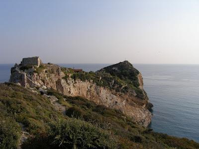 Το κάστρο της Σκιάθου. Φωτογρ. Αρχείο Κ. Κουτούμπα