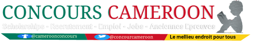 Concours Cameroon