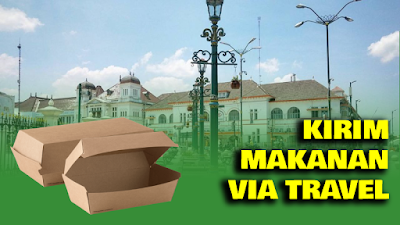 Kirim makanan Via Travel