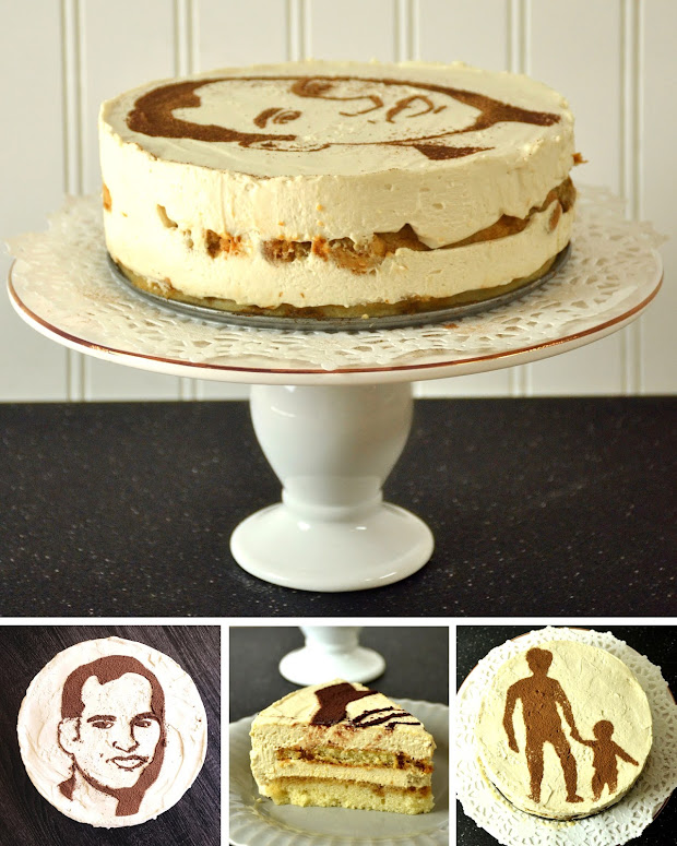 how to put picture on cake